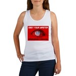 Fox News: Obey your Master Women's Tank Top