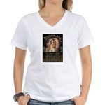 Republican Jesus Women's V-Neck T-Shirt