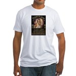 Republican Jesus Fitted T-Shirt