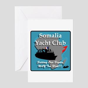 Somalia Yacht Club - Greeting Card