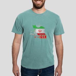 Football Worldcup Iran Iranians Soccer Tea T-Shirt