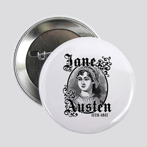 "Jane Austen 2.25"" Button"