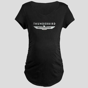 Ford Thunderbird Logo w Type Chrome Maternity Dark