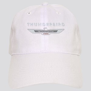 Ford Thunderbird Logo w Type Chrome Cap