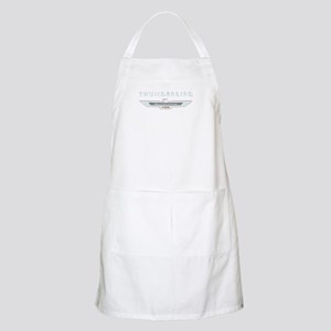 Ford Thunderbird Logo w Type Chrome BBQ Apron