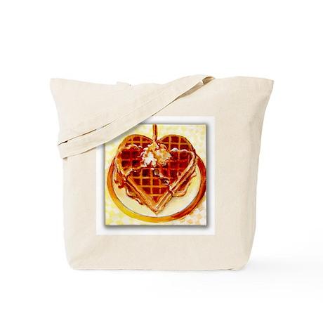 Waffle of Love Tote Bag