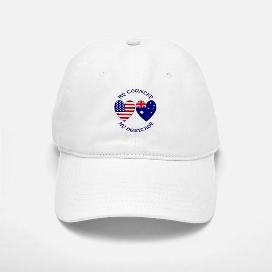 Australian Heritage 4 Baseball Baseball Cap