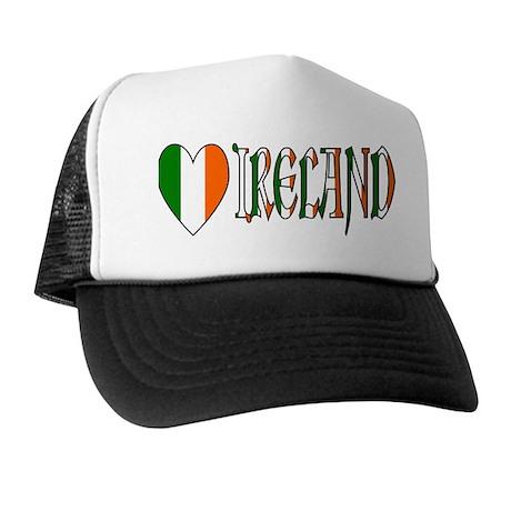 Heart Ireland Trucker Hat