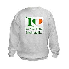 I (Heart) Irish Laddie Sweatshirt