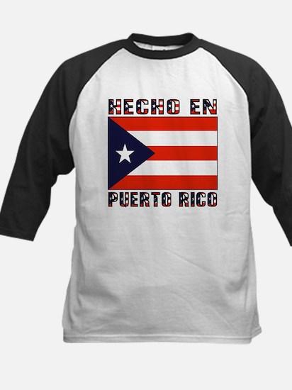 Hecho en Puerto Rico Kids Baseball Jersey
