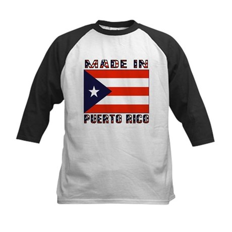 Made in Puerto Rico Kids Baseball Jersey