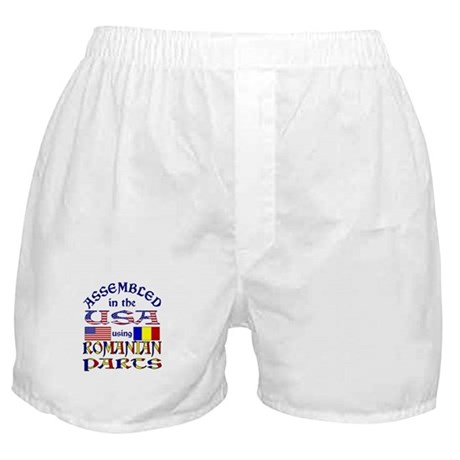 USA/Romanian Parts Boxer Shorts