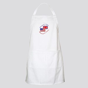 British by Birth American by BBQ Apron