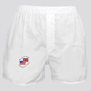 British by Birth American by Boxer Shorts