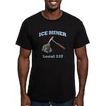Ice Miner Men's Fitted T-Shirt (dark)