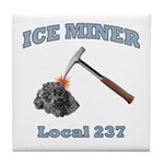 Ice Miner Tile Coaster