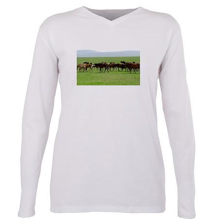 Horses on Grassland T-Shirt