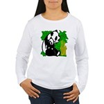 Panda Mommy & Baby Women's Long Sleeve T-Shirt