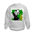 Panda Mommy & Baby Kids Sweatshirt