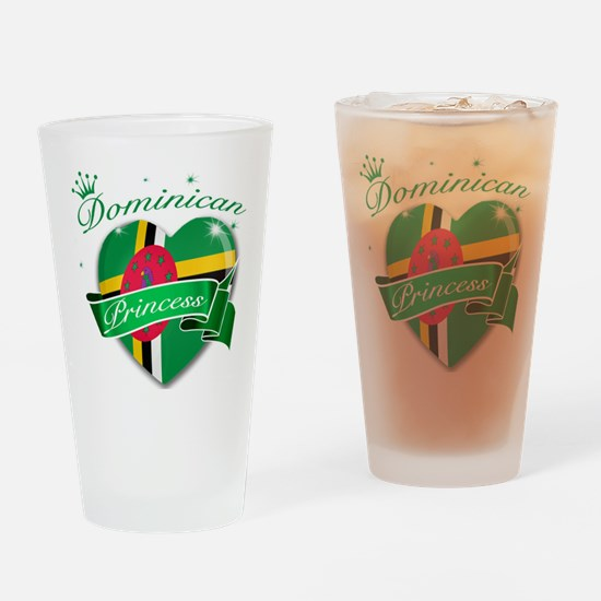 dominica.png Drinking Glass