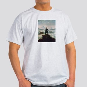 Caspar David Friedrich (1774- Ash Grey T-Shirt
