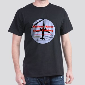 Hudson River Sport Fishing Dark T-Shirt