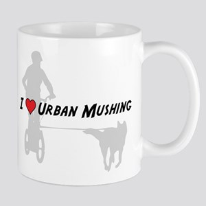 Love Urban Mushing Mug