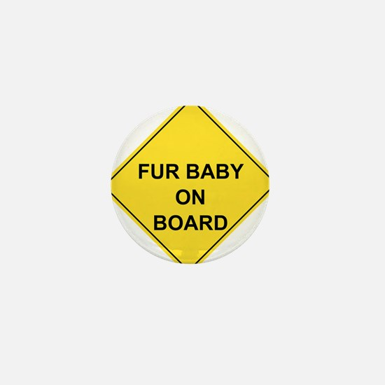 Cute Baby board Mini Button