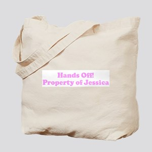 Hands Off! Property of Jessi Tote Bag