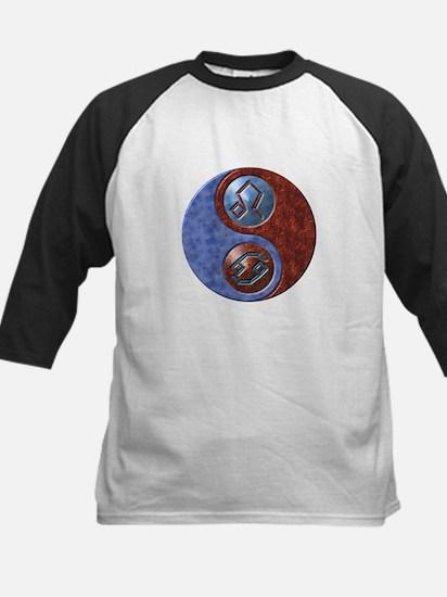 Cancer/Leo Elemental Cusp Kids Baseball Jersey