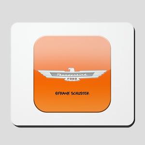 i Ford Thunderbird Logo Mousepad