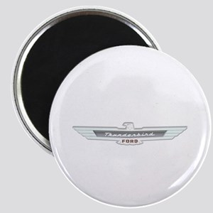 Ford Thunderbird Emblem Chrome Magnet