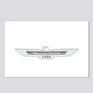Ford Thunderbird Emblem Chrome Postcards (Package