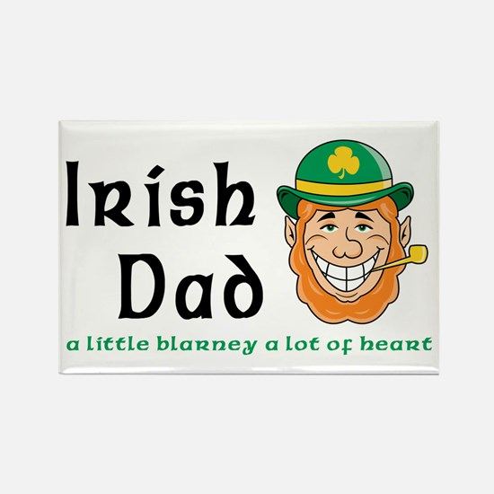 Irish Dad Rectangle Magnet
