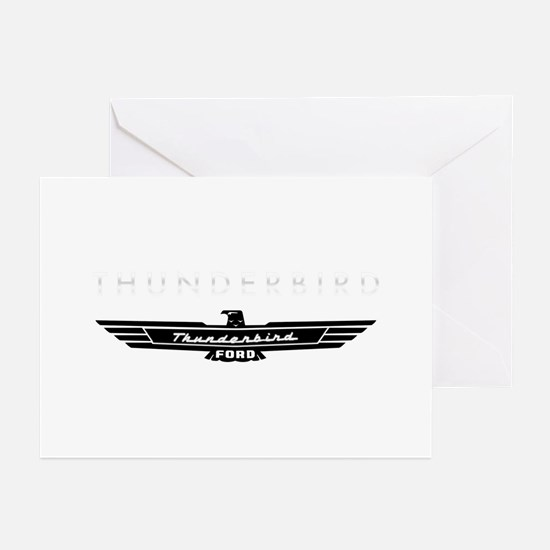 Ford Thunderbird Emblem Greeting Cards (Pk of 10)