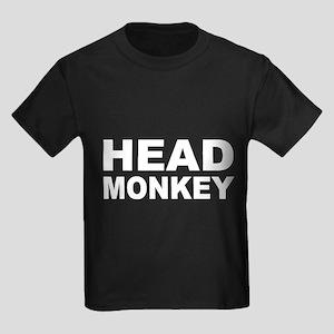 Head Monkey - Kids Dark T-Shirt