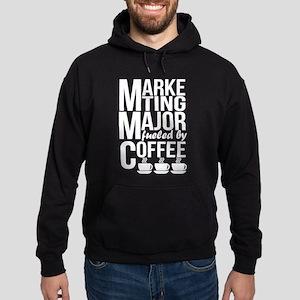 Marketing Major Fueled By Coffee T Shir Sweatshirt