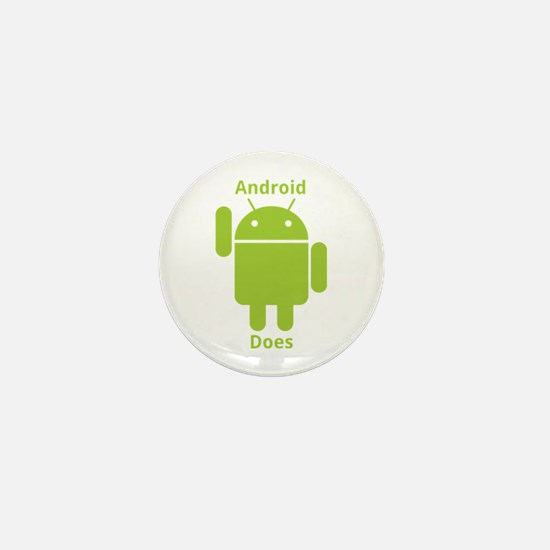 Droid Does Google Android Mini Button