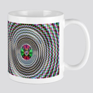Pulsing Vortex Optical Illusi Mug
