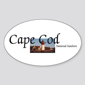 ABH Cape Cod Americasbesthistory.co Sticker (Oval)