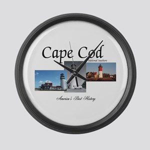 ABH Cape Cod Americasbesthistory. Large Wall Clock
