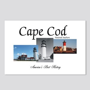 Cape Cod Americasbesthist Postcards (Package of 8)