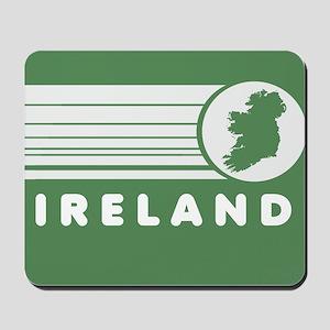 Retro Ireland Stripes Mousepad