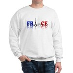 France Tricolore and Eiffel T Sweatshirt