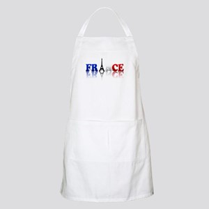 France Tricolore and Eiffel T BBQ Apron