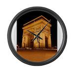 Arc de Triomphe Illuminated Large Wall Clock