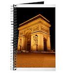 Arc de Triomphe Illuminated Journal