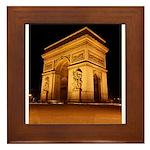 Arc de Triomphe Illuminated Framed Tile