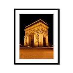 Arc de Triomphe Illuminated Framed Panel Print