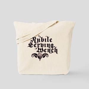 Nubile Serving Wench Tote Bag